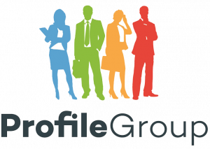 logo of profile group, a legal client of GOlegal